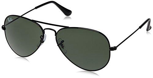 Ray-Ban Aviator Sunglasses (Black) (RB3025|002555)