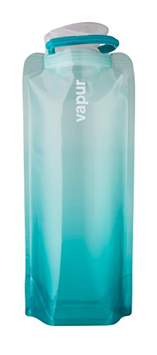Vapur © Faltbare Wasser-Flasche Gradient Malibu Türkis .7L - Aqua - Aqua-wasser-flasche