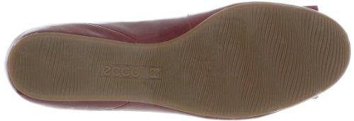 Ecco Owando Bow, Ballerines femme Rouge (Brick 04065)