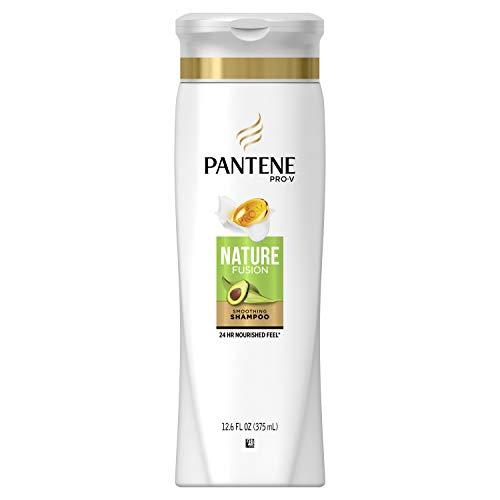 Pantene Shampooing revitalisant Pro-V Nature Fusion - Mélange d'extraits d'avocat, de bambou et de pépins de raisin - Résultats de longue durée garantis