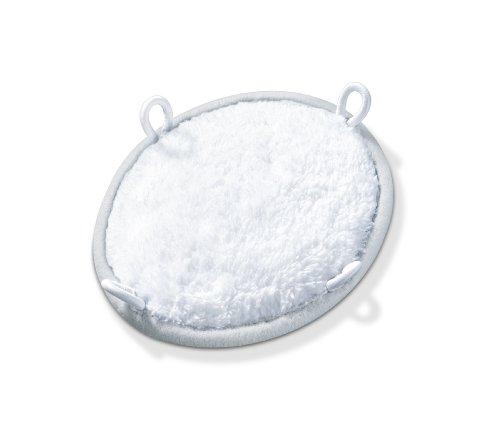 Beurer MG 17   Mini aparato de masaje vibratorio  incluye 2 superficies (esponja y algodón suave)