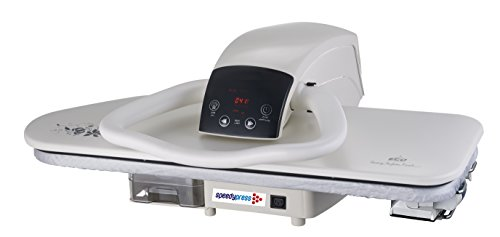 Professional 100HD Hochleistungs-Dampf-Bügelpresse, 101cm (+ GRATIS Ersatzabdeckung & Schaumstoff-Unterfilz und Wasserfilterpatrone) - 3