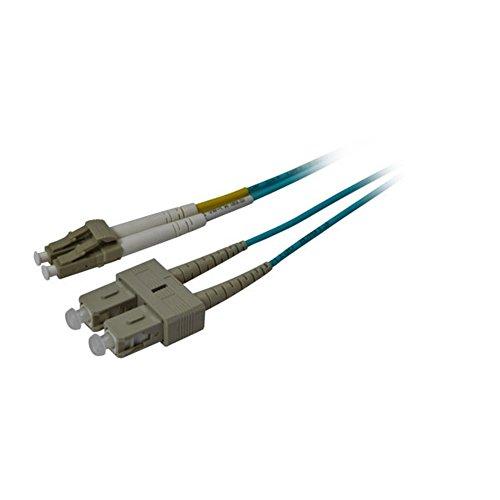 Synergy 2115m OM3LC–SC 15m LC SC Blau LWL-Kabel–Glasfaserkabel-(15m, OM3, LC, SC, blau)