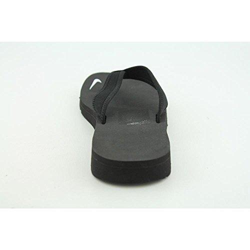 Nike 314870-011 Badelatschen, Damen, Schwarz (Black / White), 40 1/2 -