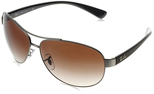 ray-ban-unisex-adults-mod-3386-sunglasses-gunmetal-gunmetal-size-67