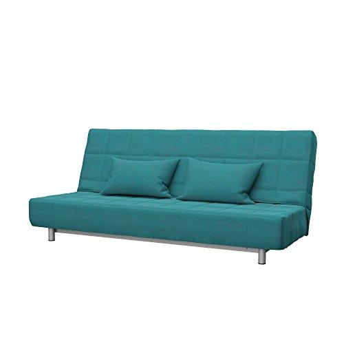 Soferia - Ikea BEDDINGE Fodera per Divano Letto a 3 posti, Classic Blue