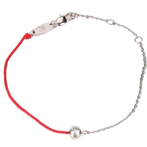 Frauen-Diamant-Armband-Handgelenk-Kettenarmband Mit Roten Seil Justierbare Armband-Armband-Schmucksachen Für Mädchen (Bronze) (Der Von Party-stadt In Nähe)