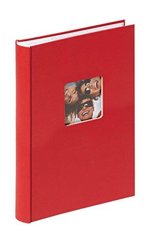 Walther design me-111-r fun album ad inserimento 300 foto, altro, rosso, fotos 10 x 15 cm