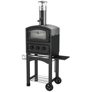 Fornetto GLPZ5EUB Black Wood Fired Oven