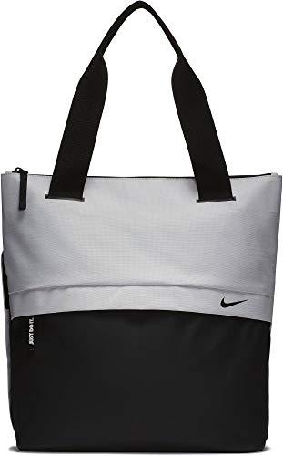 Nike W Nk Radiate Tote, Damen Kuriertasche, Mehrfarbig (Vast Grey/Black Blac), 8x15x20 cm (W x H L) - Tasche Frauen Nike