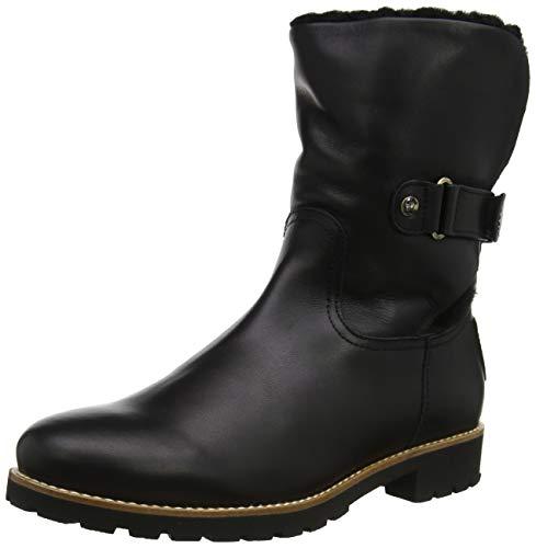 Panama Jack Damen Felia Igloo Travelling Halblange Stiefel, Schwarz, 38 EU