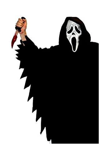 Halloween Scary Movies - Scream-Ghost Face-Scary Movie TV Costume Film