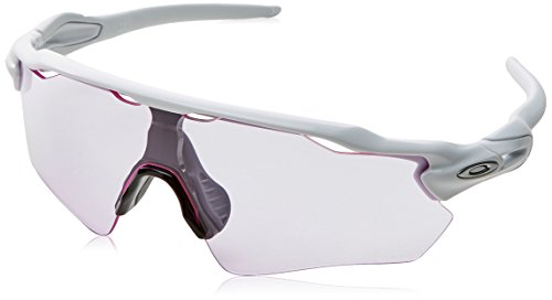 Oakley Herren Radar Ev Path 920865 Sonnenbrille, Mehrfarbig (Polished White), 40