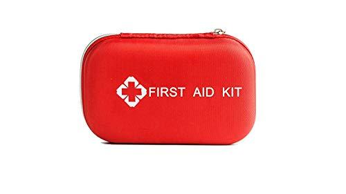 WANWEIGOU 23-Teiliges Erste Hilfe Set Outdoor Premium Klein Erste Hilfe Tasche, Hard Case First Aid Kit Erste-Hilfe-Koffer für Reisen, Büro, Arbeitsplatz, Kinderbetreuung, Wandern, Survival & Outdoor - Survival Kit Case