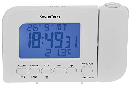 Unbekannt Funk-Projektionswecker Temperaturanzeige Kalender Weiss
