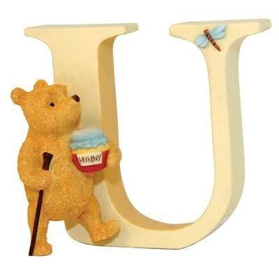 Classic Winnie The Pooh - Alphabet Letter U - Pooh Walking by Classic Pooh