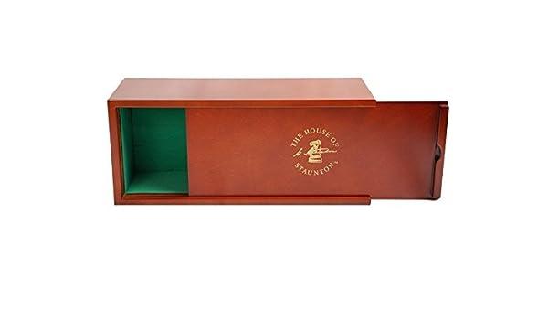 Mahogany Slide-Top Chess Box