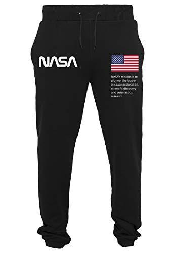 Mister Tee NASA Heavy Pantalon de survêtement pour Homme M Noir