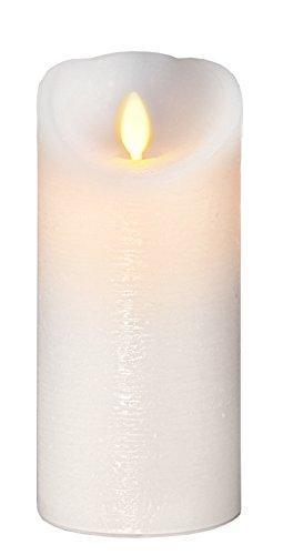 Star 063–74Twinkle vela LED Cera blanco 8x 17,5cm