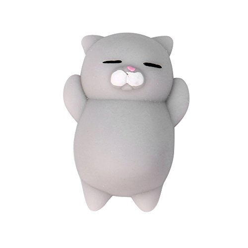 Frashing To Have Fun !!! Nette Mochi Squishy Katze Squeeze Heilung Spaß Kinder Kawaii Spielzeug Stress Reliever Dekor Education Toy (Katze Kostüm Kinder Für Diy)