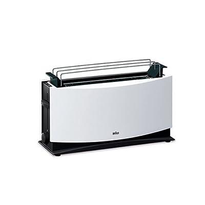 Braun Multiquick 5 Ht 550 Langschlitztoaster 1000 Watt Geeignet Fr 2 Toasts Wei