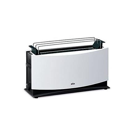 Braun-Multiquick-5-HT-550-Langschlitztoaster-1000-Watt-geeignet-fr-2-Toasts-wei