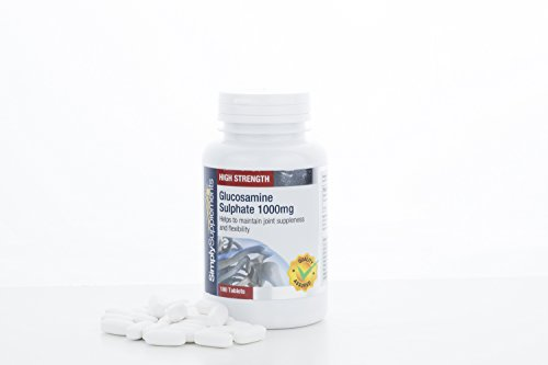 High Quality Glucosamine 1000mg | Joint Pain & Arthritis Relief | 2x 180 Tablets | 100% money back guarantee | Manufactured in the UK