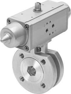 VZBC-32-FF-40-22-F0405-V4V4T-P (1915404) KUG.HAHN-ANTR.E Betätigungsart:pneumatisch Nennweite DN:32