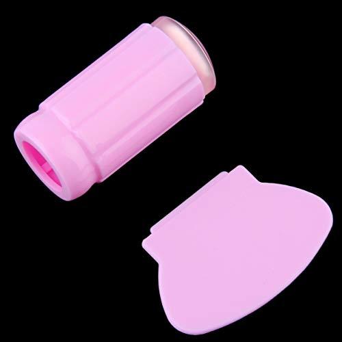 MXECO Manicuras Pedicuras Plástico Silicona Nail