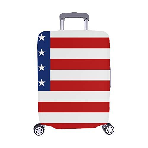 Usa Flagge Vektor Icon Muster Spandex Staubschutz Trolley Protector case Reisegepäck Beschützer Koffer Abdeckung 28,5 X 20,5 Zoll Flagge Protector Case