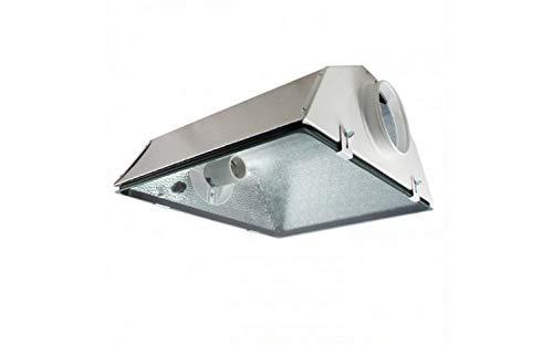 SPUDNIK Cooltube Glas Medium - Reflektor Grow Lampe Beleuchtung NDL & MHL E40 Fassung Lampen Reflektor