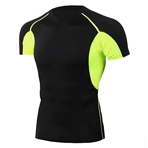 Männer Frühling Sommer Männer T-Shirts 3D Gedruckt Tier t-Shirt Kurzarm Lustige Design Casual Tops Tees Männlich,Stretch Fitness - C Schwarz - AS -