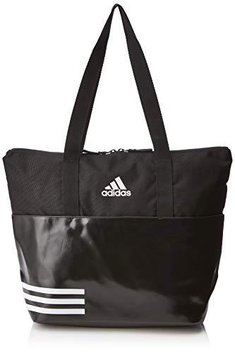 adidas Damen DW9026 Henkeltasche, Mehrfarbig (Negro/Negro/Blanco), 34x39x18 Centimeters
