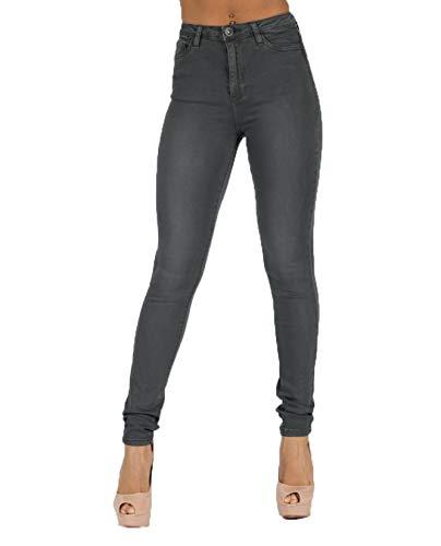 High Toxik3 Women's Skinny Grey8 60 Waist Jeans L185 vnwN80m