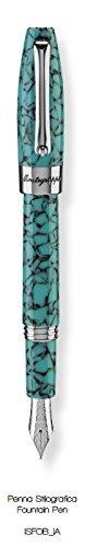 montegrappa-crescita-fortuna-mosaico-turchese-acciaio-inossidabile-penna-stilografica-penna-stilogra