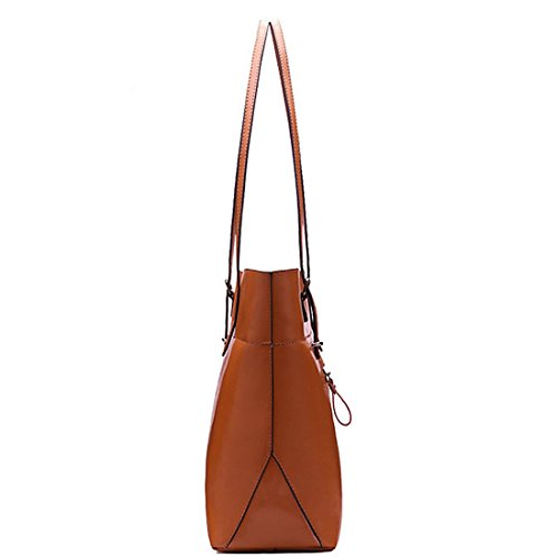 SSMK Shoulder Bag, Borsa tote donna Brown