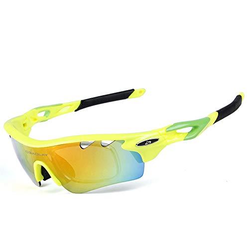 Yiph-Sunglass Sonnenbrillen Mode Outdoor Sports Sonnenbrillen Tragbare Brillen Polarisierte Sonnenbrillen Radfahren Sportbrillen (Farbe : C)