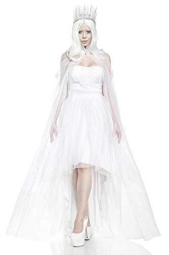Mask Paradise Eiskönigin, Kostümset für Damen, Größe: M