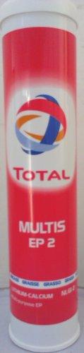 Total multinationales EP. 2 Graisse multi-usage dans la 400 g cartouche
