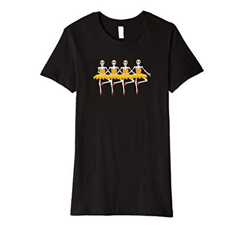 Halloween T-Shirts für Tänzer Funny Skelett -