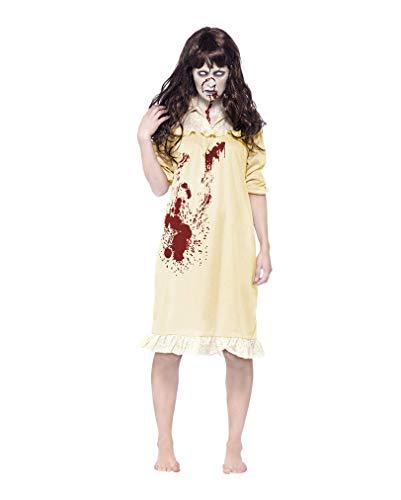 Horror-Shop Blutiges Zombie Nachthemd - Zombie Kostüm Nachthemd
