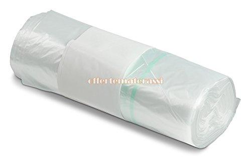 Buste trasparenti 50 pz sacchetti spedizioni loghi scritte antisoffoco stampate
