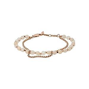 Fossil Damen-Armband Edelstahl 1 Glasstein 32000786