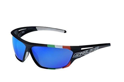 SALICE 002ITA, occhiale Sportivo Unisex - Adulto, Nero, Medium