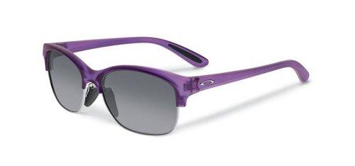 ille Damen, damen, Frosted Purple Orchid Black Grey Gradient, 53 mm (Oakley Snowboard Brille Damen)
