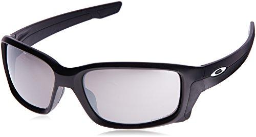 Oakley Herren Straightlink 933114 58 Sonnenbrille, Schwarz (Matte Black/Prizmblack),