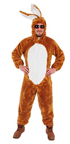Hase braun offen Kostüm Einheitsgrösse L Ostern Karneval Junggesellenabschied (Feuer Mann Kostüm)