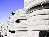 Tubo Corrugato Doppio Strato Cavidotto per impianti elettrici Rotolo 50 metri (Diametro 40 mm)