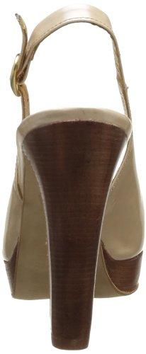 Zinda 9949, Sandales compensées femme Beige (Napier Sand)