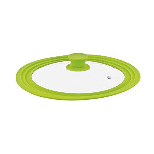 Coperchio universale bremermann® con bordo in silicone, 24/26/28 cm, medio